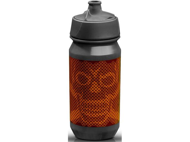 Riesel Design bot:tle 500ml, skull honeycomb orange